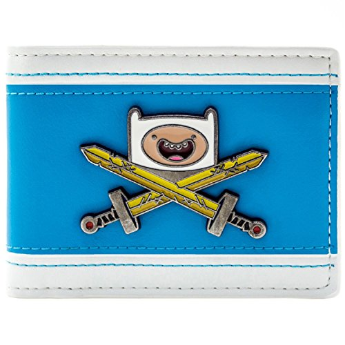 Cartoon Network Adventure Time Finn's Schwert Blau Portemonnaie ()