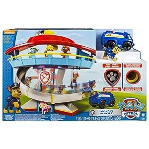 PAW Patrol, Quartier Generale con Chase e Il Suo Veicolo, 6022632 LEGO