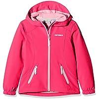 ICEPEAK rilda niña Softshell, Chaqueta niña, rojo, 140 cm