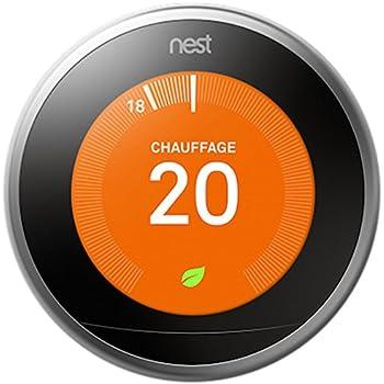 Nest Learning Thermostat Troisième Génération