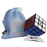 MoYu Weilong GTS2M V2M Magnetischer Zauberwürfel - BY-Romance Magnetischer Zauberwürfel 3x3x3 Speed Cube Puzzle (Schwarz)