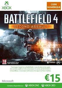 Carte Xbox Live de 15 EUR - Edition Battlefield 4 - Second Assault [Code Digital - Xbox Live]
