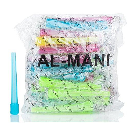 Hygienemundstücke Al Mani XL groß innen 50 er Beutel bunt für ShiSha Einweg