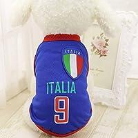 WARMTOWE 2018 Squadra di Calcio Abbigliamento Small Pet Dog Vestiti del  Cane Abbigliamento Cappotto Gatto Gilet 1699e0ac45bf