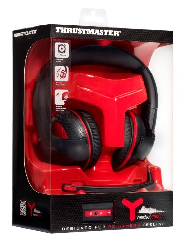 Thrustmaster Gaming Headset: Wired - Y250C (PC DVD)