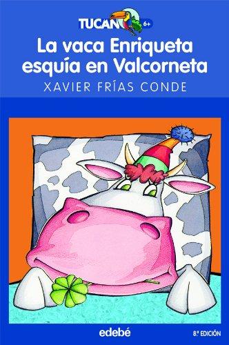 La vaca Enriqueta esquía en Valcorneta (TUCÁN AZUL)
