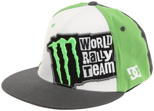 DC Shoes Herren Flex Fit Cap MWRT Drifting, weiß, L/XL, D052300217_WHTD (Hat Flex Monster)