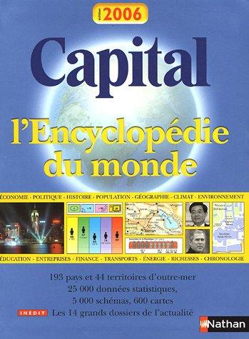 Capital : L'Encyclopédie du Monde par Andrew Heritage, David Roberts, Collectif