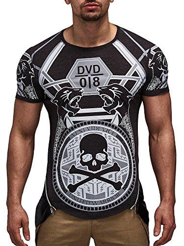 David Gerenzo -  T-shirt - Uomo Antracite