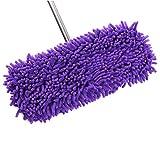 UGUAX Wischmopp Ersatz Reinigungstuch Mikrofaser Chenille Auto Reinigung Waschlappen Lazy zu wischen Schuhe Violett