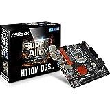 Asrock H110M-DGS R3.0 Intel H110 LGA1151 Micro ATX - Placa base (DDR4-SDRAM, DIMM, 2133 MHz, Dual, 32 GB, Intel)