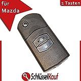 Mazda 2 Tasten Klappschlüssel 3 5 6 CX5 CX7 CX9 RX8 Gehäuse Ersatz Fernbedienung Neu