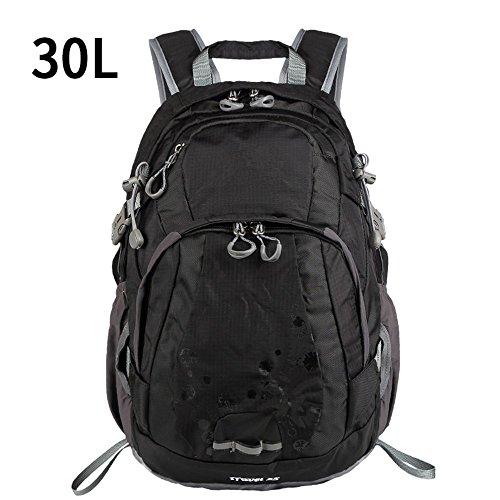 Bergsteigen-TascheSchulternwasserdichteleichteWander-FreizeitFreizeitMulti-funktionaleReiseTascheOutdoor-backpack,blue(25L) black(35L)