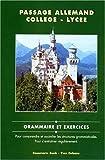 Passage allemand collège. lycée de Bunk (2000) Broché