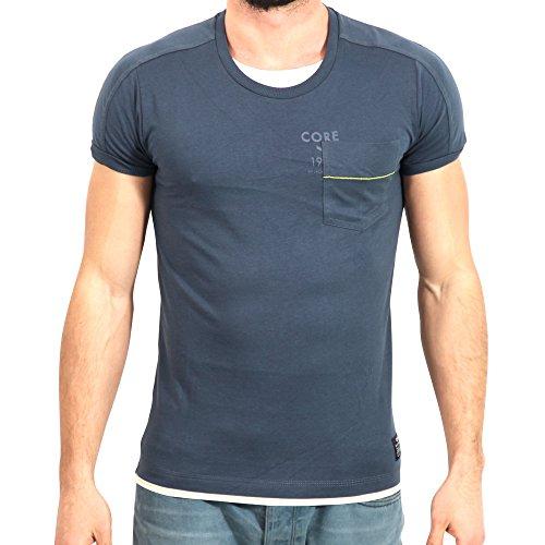 JACK & JONES -  T-shirt - Maniche corte  - Uomo blu S