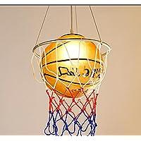 YMXJB Lampada a sospensione di basket tipo ciondolo luce risparmio occhio protezione lampadari bambini creativi camera studio asilo, 220V(warm light)