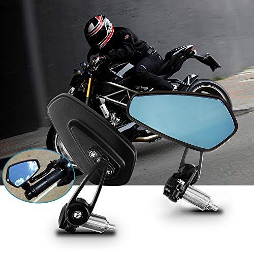 Specchietti Moto Retrovisori Moto, Aolead Universal Specchietti Moto 7/8