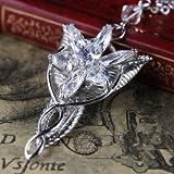 El Señor de los Anillos Colgante Arwen Estrella del Atardecer Evenstar Necklace