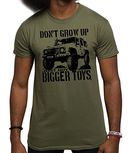 mens-4x4-t-shirt-buy-bigger-toys-4wd-4x4-off-road-t-shirts-military-green-l