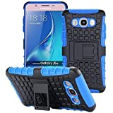 ECENCE SAMSUNG GALAXY J3 (2016) OUTDOOR RUGGED HüLLE + PANZERGLAS CASE COVER HYBRID BUMPER SILIKON PANZERFOLIE 43040309