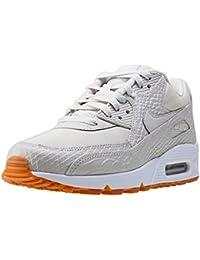 Nike Air Max 90 Premium - Zapatillas para mujer, primavera-verano, Sandalias con cuña, mujer, color azul, tamaño 36 EU
