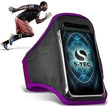XIAOMI MI-2A Armbands - ( Purple ) Universal Sports Running Action Mobile Phone Armband Holder ( XIAOMI MI-2A de brazaletes - ( púrpura ) Deportes Universales Ejecutando acción Móvil Brazalete titular )