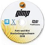 GIMP 2019 Bildeditor Premium Professional Bildbearbeitungssoftware für Windows 10 8.1 8 7 Vista XP, Mac OS X und Linux - Volles Programm und kein monatliches Abonnement!