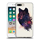 Official Robert Farkas Universal Wolf Animals Soft Gel Case for Apple iPhone 7 Plus / 8 Plus