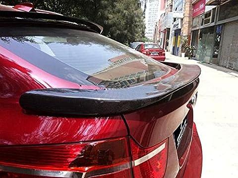 Carbon Fiber Rear Hamann Trunk Spoiler For BMW X6 E71 2008-2013