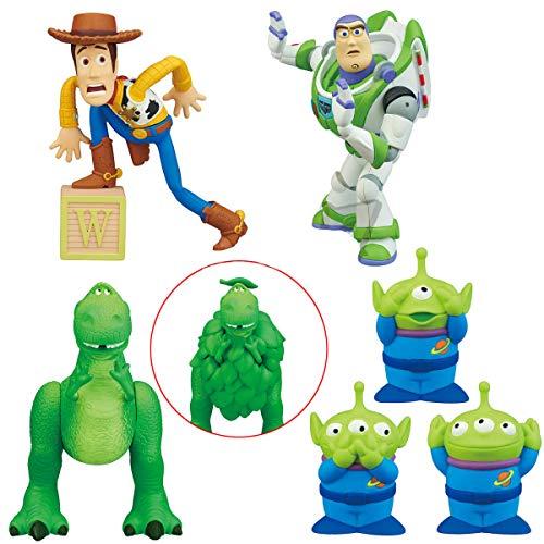 TOMY Toy Story Set 6 Figuren Sammlung 2-7cm Buzz Lightyear Woody Rex 3 Alieni Gashapon Japan