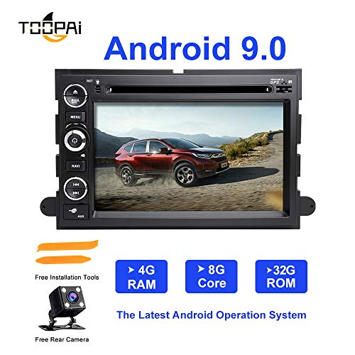 ereo, ZLTOOPA Für Ford F150 F350 F450 F550 F250 Fusion Expedition Mustang Explorer Rand Android 9,0 Octa Core 4G RAM 32G ROM HD Digitaler Multi-Touchscreen Auto Stereo GPS Radio ()
