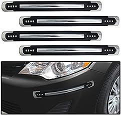EASY4BUY Black Silicon Car Bumper Guard