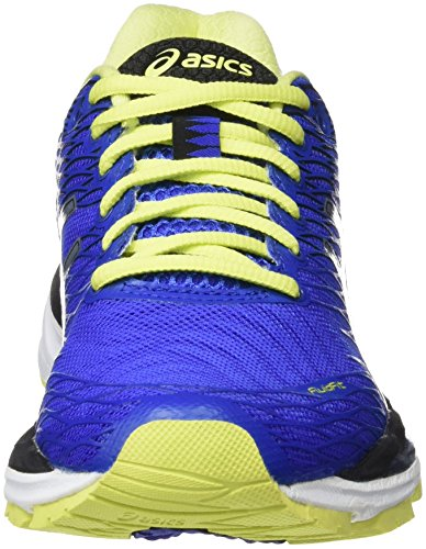 ASICS Gel-nimbus 18 - Scarpe Running Donna Azul (Blue Purple/Silver/Sunny Lime)