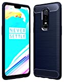 #10: Golden Sand OnePlus 6 Back Case Cover Original Shockproof Armor TPU Cover Case for One Plus 6 Mobile Phone Cover 2018 [6.28