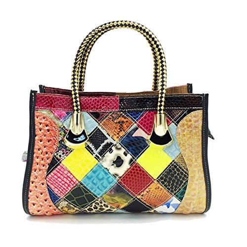 Eysee, Poschette giorno donna Multicolore Multicolore 33cm*22cm*13cm Multicolore