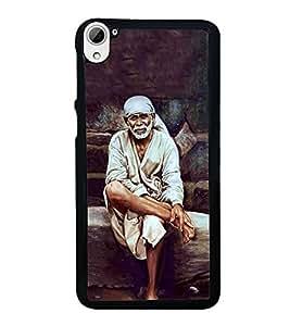 Printvisa Ultra Sai Baba 2D Hard Polycarbonate Designer Back Case Cover for HTC Desire 826 Du...