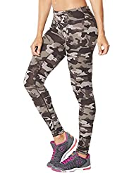 Zumba Fitness Camo Perfect Legging Femme Queue The