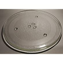 LG Goldstar Microwave Glass Turntable Tray / Plate 12 3/4 Inch