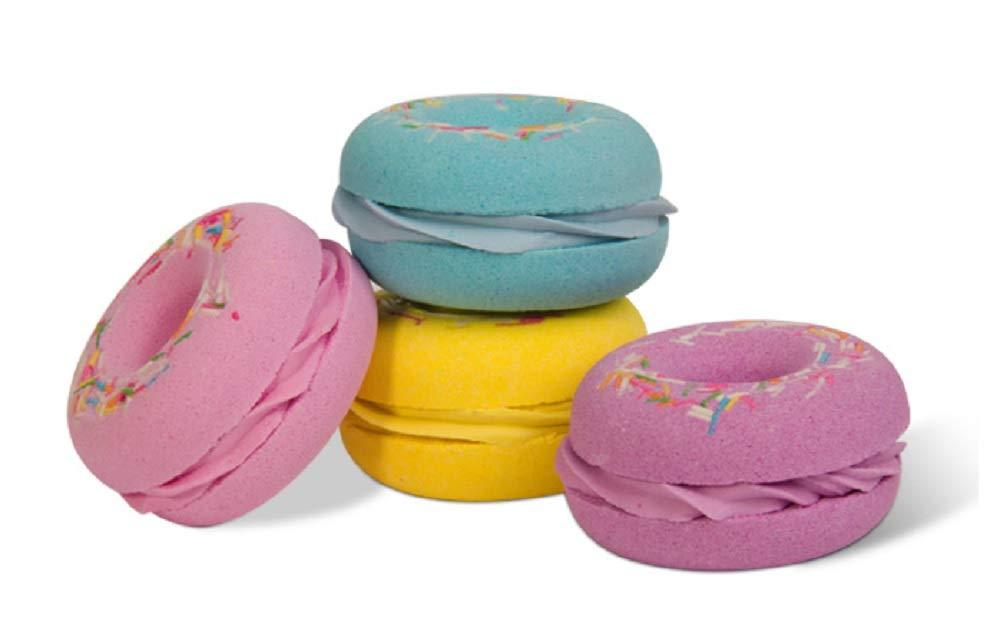 Sali Da Bagno Rilassanti : Bombe da bagno profumate cofanetto da ciambelle colorate