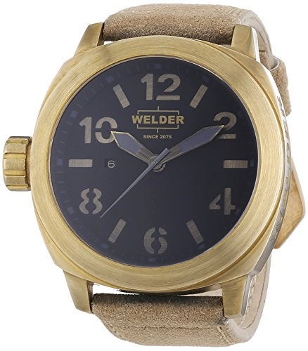 Welder Unisex-Armbanduhr Analog Quarz Leder K51 9100