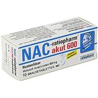 NAC ratiopharm akut 600 mg Hustenlöser Brau 10 St preisvergleich bei billige-tabletten.eu