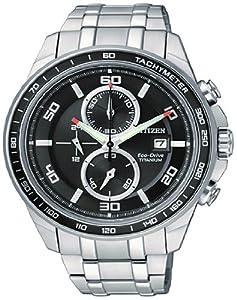 Citizen CA0340-55E - Reloj para hombres, correa de titanio de Citizen