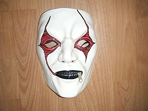UK - JIM ROOT WHITE - SLIPKNOT THERMO PLASTIC HARD