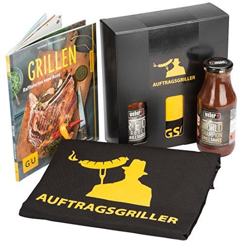 Preisvergleich Produktbild DKDS Collection Grill Geschenkset Auftragsgriller – Alles im Griff, mit Rezeptbuch