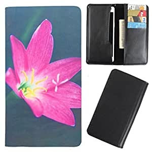 DooDa - For LG G2 (D802) PU Leather Designer Fashionable Fancy Case Cover Pouch With Card & Cash Slots & Smooth Inner Velvet