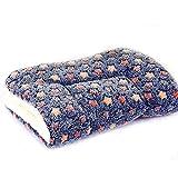 anbiwangluo Hund u. Katze-Decken für Haustier-Schlaf Weiches 4SIZE 4Color (M, Dark-Brown)