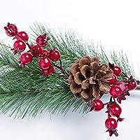 JullyeleESgant Hermoso árbol de Navidad Artificial de la simulación del Pino de Las Ramas de la