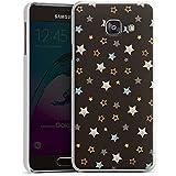 Samsung Galaxy A3 (2016) Housse Étui Protection Coque Étoiles Rockstar Sombre