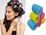 AASA Hair Curler Rollers, Plastic Hair Rollers, Hair Curler Accessories For Women, Multicolour