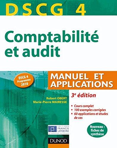 DSCG 4 - Comptabilité et audit - 3e éd...